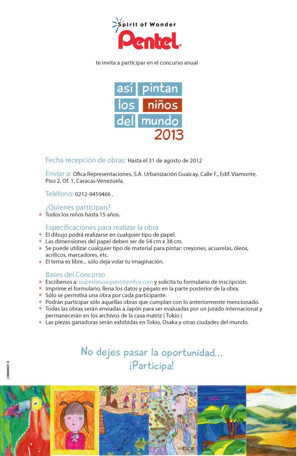 InvitacionAsiPintanLosNiños2013
