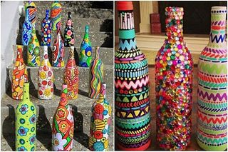 Decoracion-de-botellas