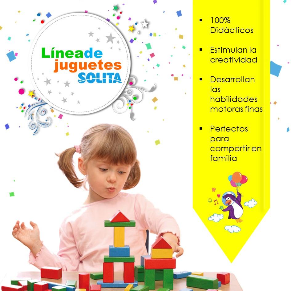 Aprender mientras se juega favorece el desarrollo creativo de los niños...  - Solita
